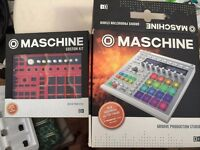 MASCHINE MK2 WHITE LIKE NEW!