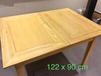 John Lewis Oak Extending Dining Table