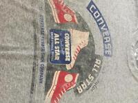Converse Grey Mans T shirt Size S