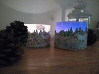 Handmade Christmas Candles and Lanterns! Perfect Christmas gift and decoration!