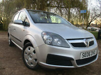 2006 VAUXHALL ZAFIRA 1.6 LIFE PETROL *2 OWNER* *NEW MOT* LOW MILES 7 SEATS FORD S MAX MAZDA 5 GALAXY
