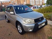 Automatic Toyota RAV4 GOLD COLOUR 4X4- MOT till Jan 2018
