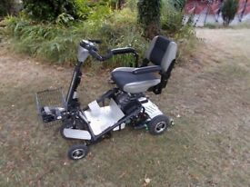 QUINGO AIR 5 wheel mobility scooter in good condition.