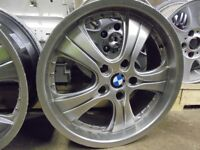 18inch bmw deep dish alloy wheel 5x120 spare single 3 available