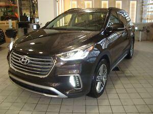 2017 Hyundai Santa Fe XL LIMTED AWD 3.3L 7 PASS CUIR TOIT NAV  T