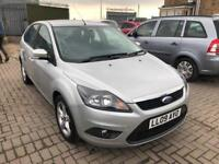 Ford Focus 1.6 Zetec 5dr£3,485 p/x welcome FREE WARRANTY. NEW MOT