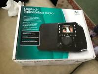 Logitech squeezebox radio WiFi fab digital radio