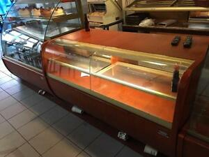 Bakery closed! Display cases , sheeter ( excellent condition ) stainless table / sinks !