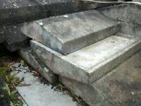 49 No. coping stones reclaimed from local country estate