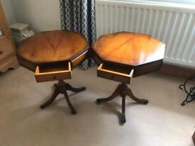Reproduction Drum Tables