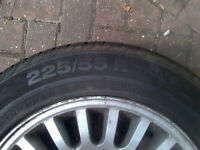 "Jaguar 16"" wheels with tyres."