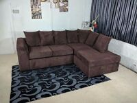 BRAND NEW DYLAN CORNER UNIT IN JUMBO CORD FABRIC OR 3+2 NATIONWIDE DELIVERY
