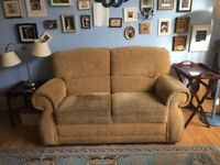 Free two seater sofa, very comfy. Collection only Whitley Bay
