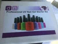 Professional UV Nail Gel Starter Kit with 10 colours