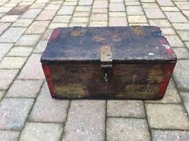 World war 2 British army ammo box