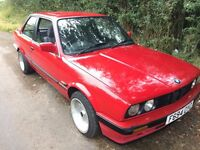 BMW E30 316i 3 Series Classic Coupe