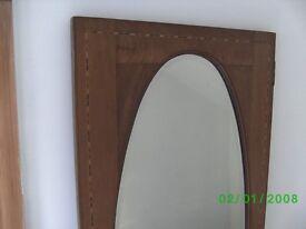 Wooden Wardrobe Door Mirror
