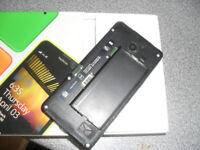 NOKIA LUMIA 635.......MISSING BACK...... LOCKED ON EE