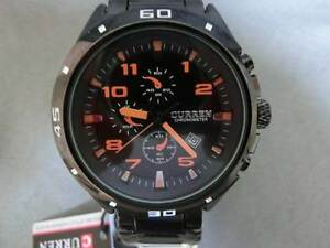 Men's Fashion Dress Analogue Watch Quartz Movement & Date by CURR Canning Vale Canning Area Preview