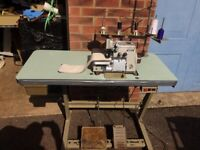 Brother industrial overlocking sewing machine Model MA4-B551
