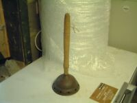 VINTAGE 1920's COPPER WASHING DOLLY POSSER PUNCH £20 ono
