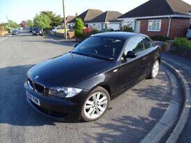 BMW COUPE 120 i SE 2009 MANUAL