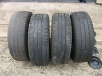 4 x Wheels & Tyres for 2010 VW Transporter