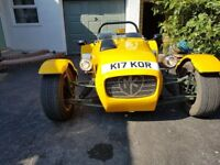 MK INDY SEVERN TYPE OPEN TOP 2 SEATER SPORTS KIT CAR BUILT IN 2009