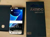 Samsung s7 egde gold unlocked boxed