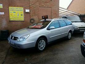 2004 Citroen C5 VTR Estate 2.2 HDI - Warranty Available