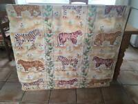 2 Professionally made roman blinds