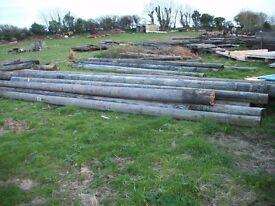 wanted telephone poles and railway sleepers