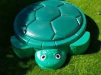 Little Tykes turtle sandpit