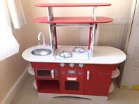 Retro wooden kitchen