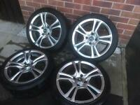 "16"" 4x108 Alloy Wheels"