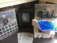 BOXED VECTREX CONSOLE WITH THREE GREAT GAMES
