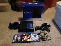 Used PS4, Headset, Controller Cradle & Games
