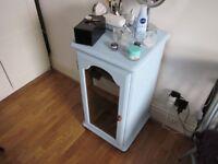 small cabinet vintage colour