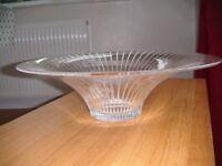 Italian crystal bowl - as new