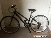 Claude Butler bike hardly used. clean condition