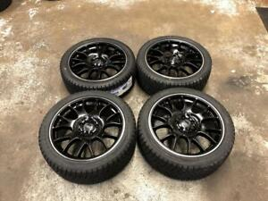 "18"" Audi Black Wheels 5x112 and Winter Tire Package 245/40R18 (AUDI Cars) Calgary Alberta Preview"