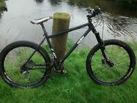 Ragley bluepig hardtail mountain bike