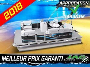 2018 Legend Boats Ponton Splash Mercury 25 ELPT Bateau pêche **P