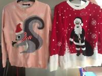 Festive jumpers