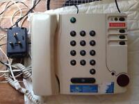Telephone for elderly people
