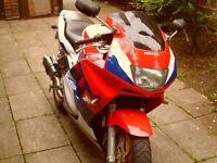 CBR 600 f3 seriously fast motorbike.
