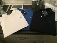 Ralph Lauren polo shirt all x 3 £20