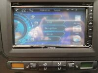 "XTRONS 7"" SAT NAV CD STEREO PLAYER DAB+ Radio"