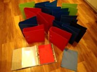 Assorted Ring Binders and Lever Arch Files