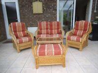 Conservatory / Cane Furniture 5 piece